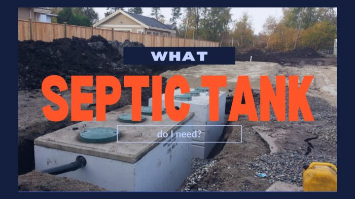 What septic tank do I need